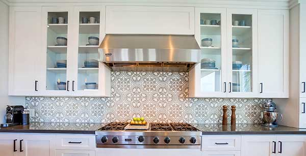 kitchen cabinets overstove