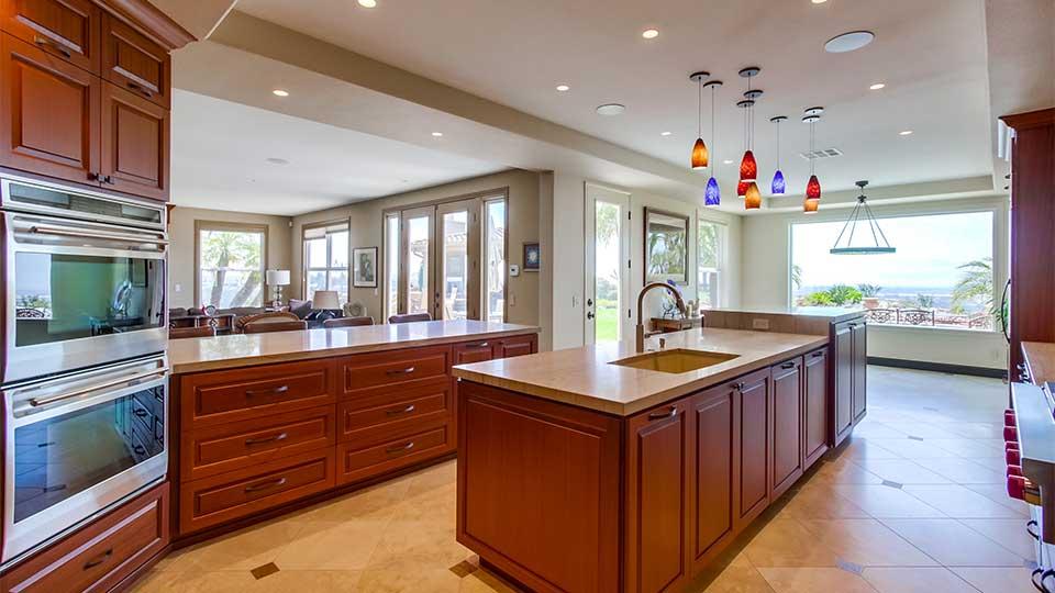 Mahogany Kitchen Cabinets