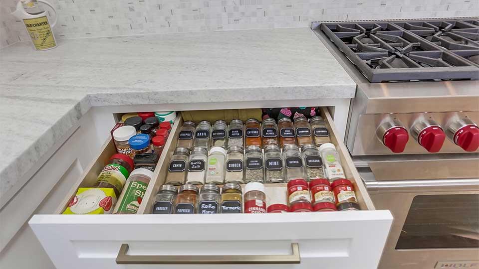 Rift White Oak Kitchen Cabinets