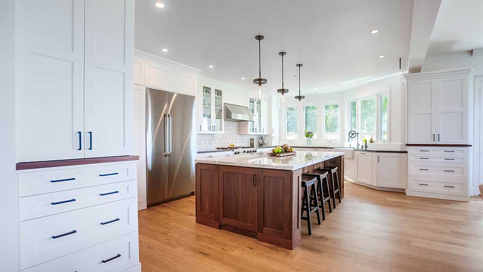 Walnut Durango Kitchen Cabinets